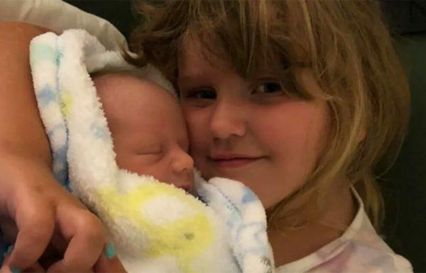 ילדה בת 4 תרמה את מח העצם שלה כדי להציל את החיים של האח הקטן שלה
