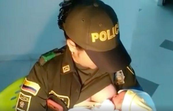 שוטרת החזיקה תינוקת מורעבת שננטשה בפרדס, הניקה אותה והצילה את חייה