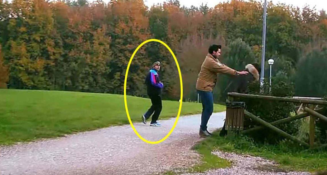 חלאה תקף אישה בפארק – אז עובר אורח התערב ועשה בדיוק את מה שהיה צריך לעשות