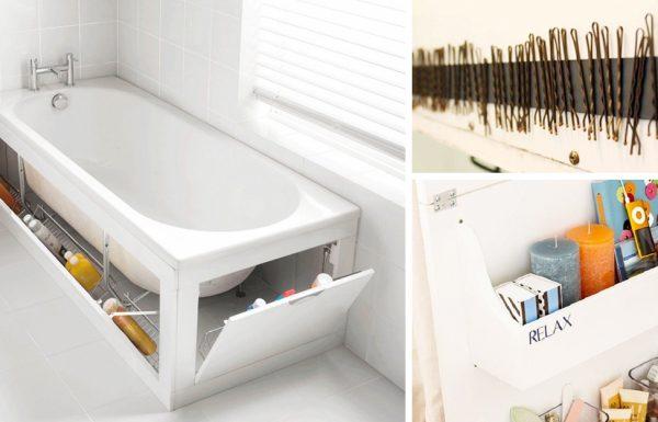 15 רעיונות מעולים ושימושיים שיהפכו את חדר האמבטיה שלכם למושלם!