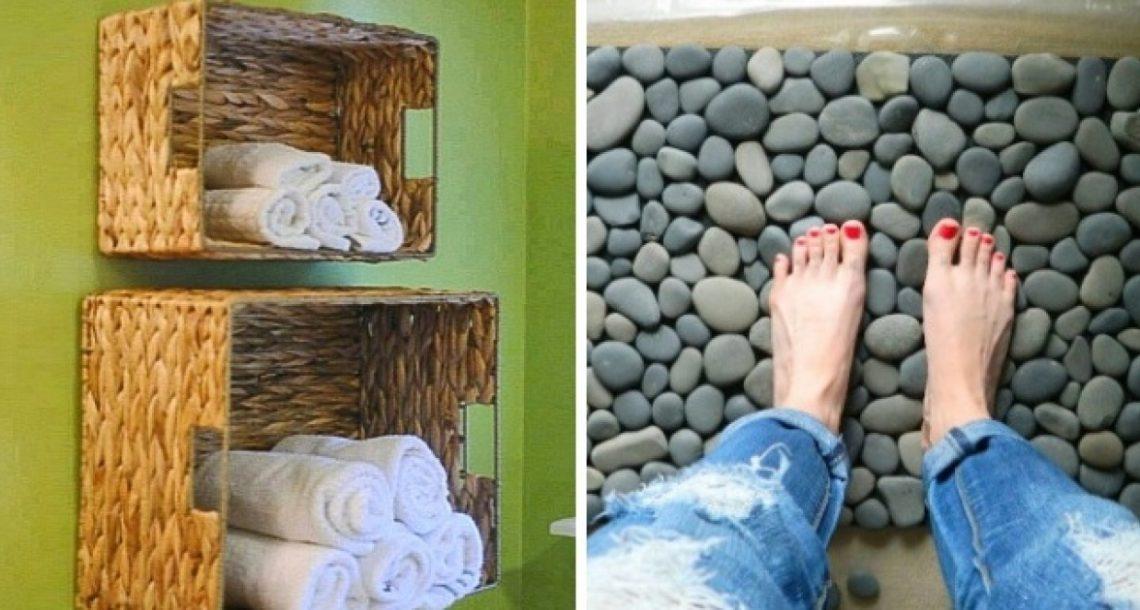 12 טריקים גאוניים שיהפכו את חדר האמבטיה שלכם למקום הכי נוח בבית