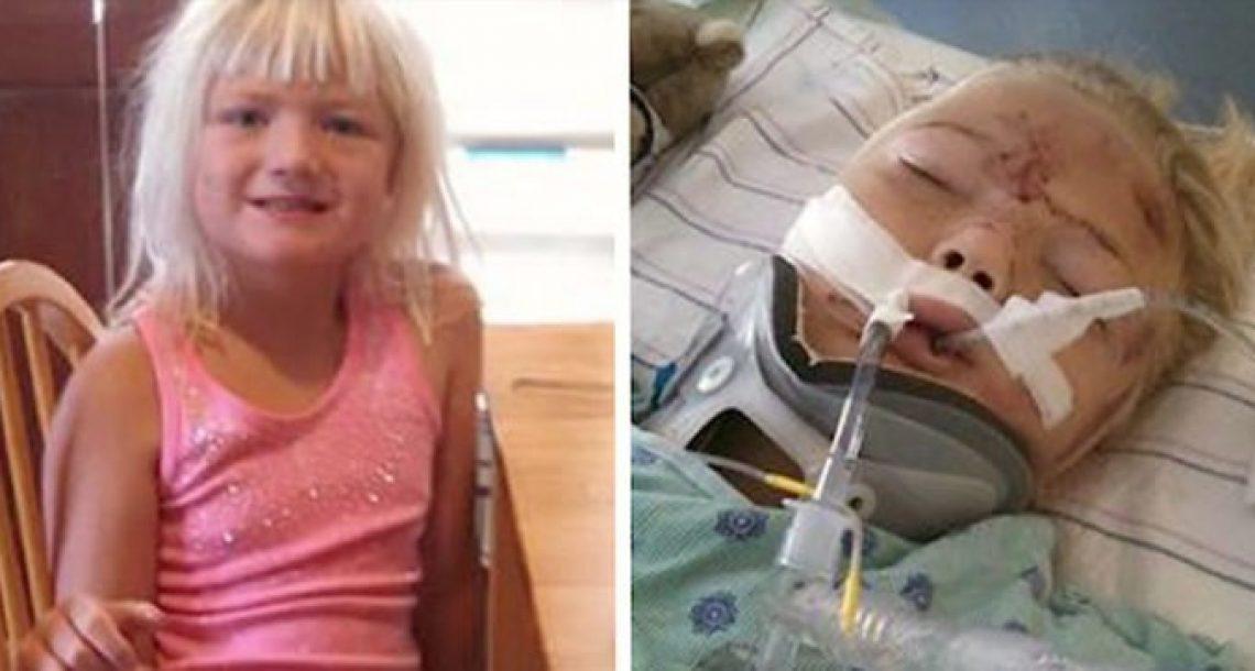 ילדה בת 6 נחצתה לשניים בגלל שתי טעויות. עכשיו אמא שלה מזהירה הורים אחרים