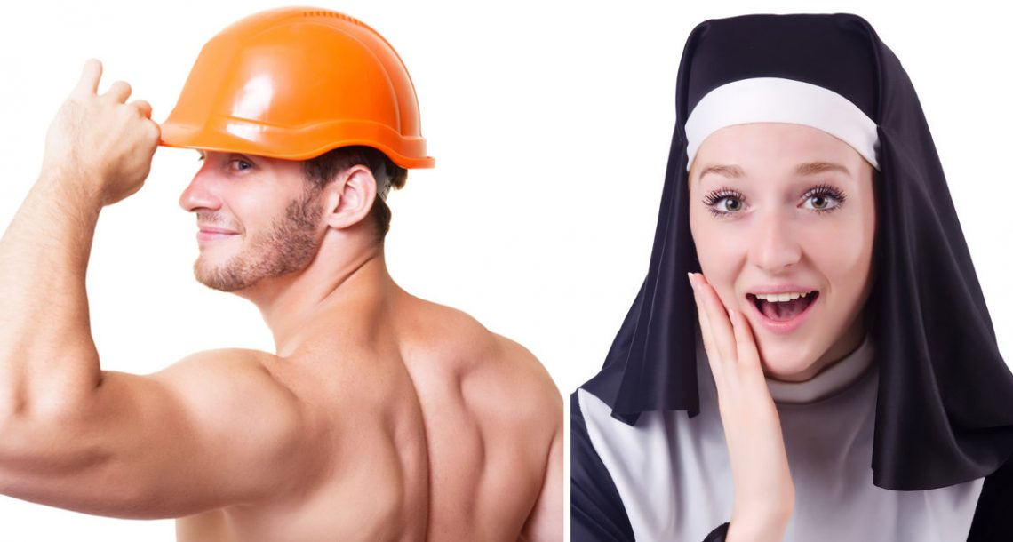 נזירה לפתה באיבר מין של שיפוצניק – התגובה הלא צפויה שלו גרמה לה לצרוח בקול