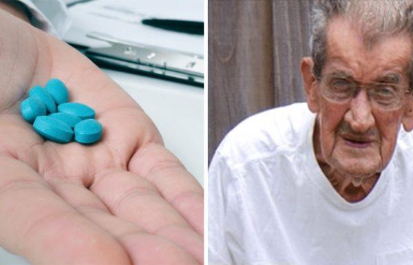 אדם בן 93 לוקח ויאגרה בכל לילה – הנכד שלו היה בשוק כשגילה מדוע