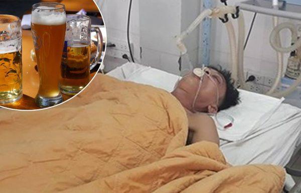 רופאים הצילו חיים של אדם שיכור – על ידי כך שהזרימו 15 פחיות של בירה אל תוך הבטן שלו