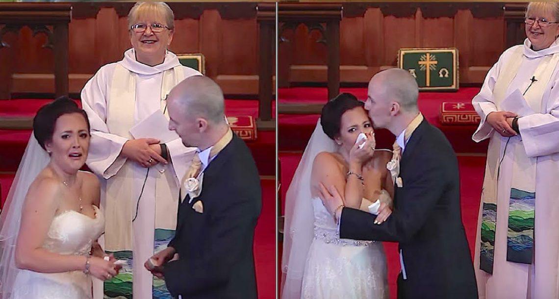 """כלה חשבה שהחתונה נגמרה: אז החתן הצביע למרפסת ואמר: """"אני צריך להתוודות על משהו"""""""