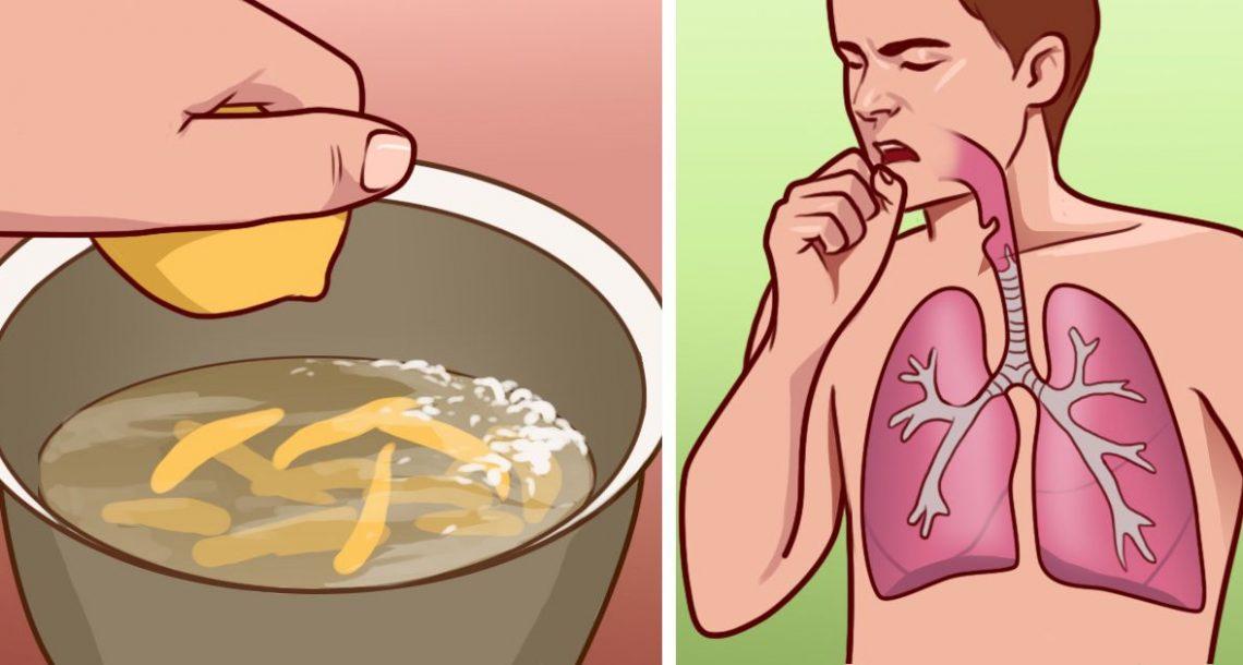 נסו את התרופה הביתית והטבעית הזו לטיפול בברונכיטיס ותעצרו את התקפי השיעול המעצבנים!