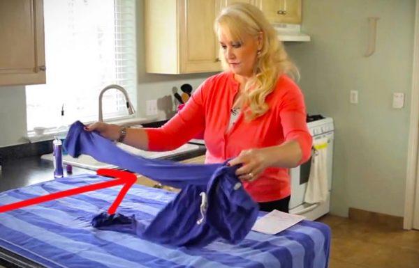 הבגד התכווץ בכביסה? אל דאגה! הטריק הפשוט והגאוני הזה יחזיר אותו לגודלו המקורי!