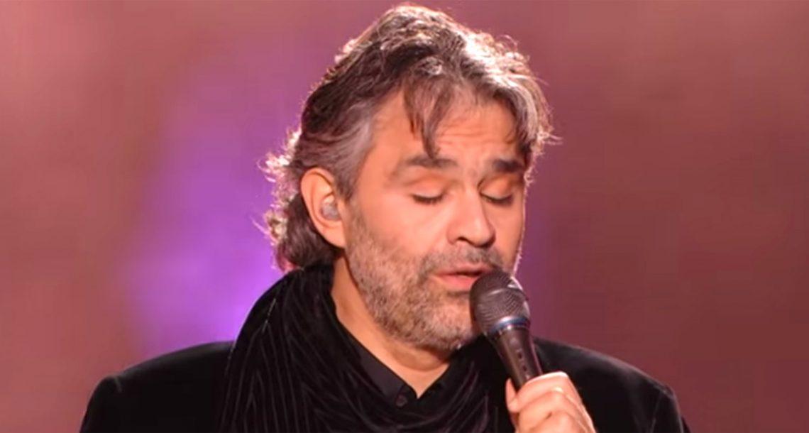אלביס הפך את השיר למפורסם. אבל כשאנדראה בוצ'לי ביצע אותו, הדמעות לא הפסיקו לזלוג