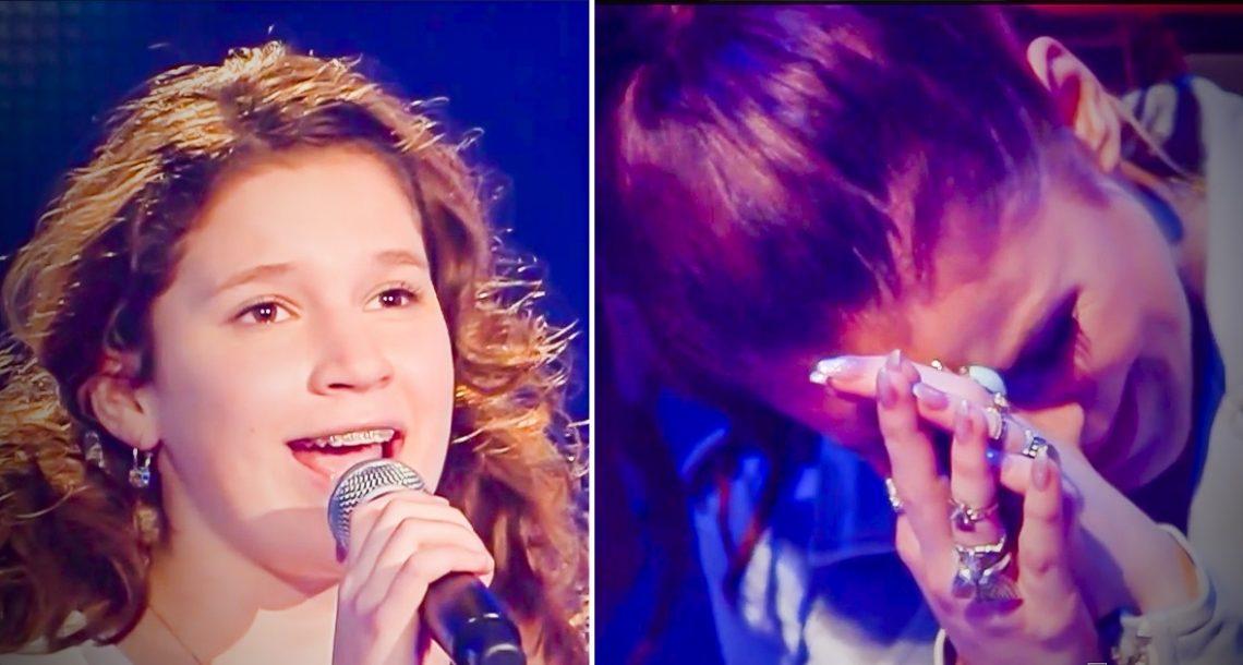 נערה צעירה עלתה על הבמה, והביצוע שלה השאיר את כולם בדמעות. לשמוע ולא להאמין!