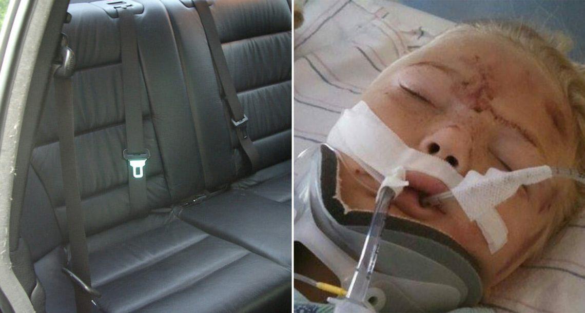 ילדה בת 6 צרחה לפתע מהמושב האחורי – עכשיו אמא מזהירה אחרים מפני הסכנה הקטלנית והלא צפויה הזו
