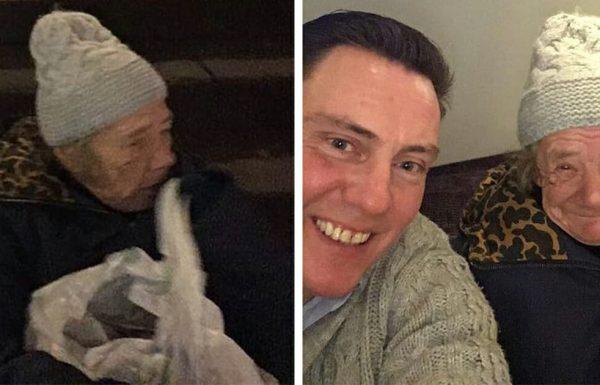 3 גברים שיצאו למסיבת חג המולד, עברו ליד אישה הומלסית – מיד עצרו במקום, שילמו לה על חדר במלון