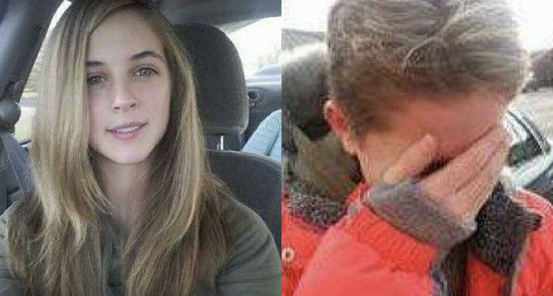 אבא גזר את השיער של הבת שלו כעונש על מתנת יום ההולדת שקיבלה