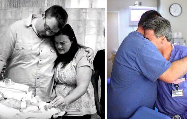 התינוק מת בחדר הלידה – 10 חודשים אחר כך הרופא לא הצליח לעצור את הדמעות בעקבות נס מדהים שקרה