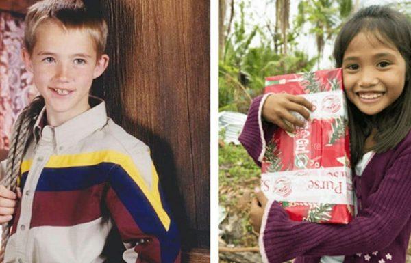 ילדה פיליפינית קיבלה מתנת צדקה מילד אמריקני – 11 שנים אחר כך, הודעה בפייסבוק שינתה הכל