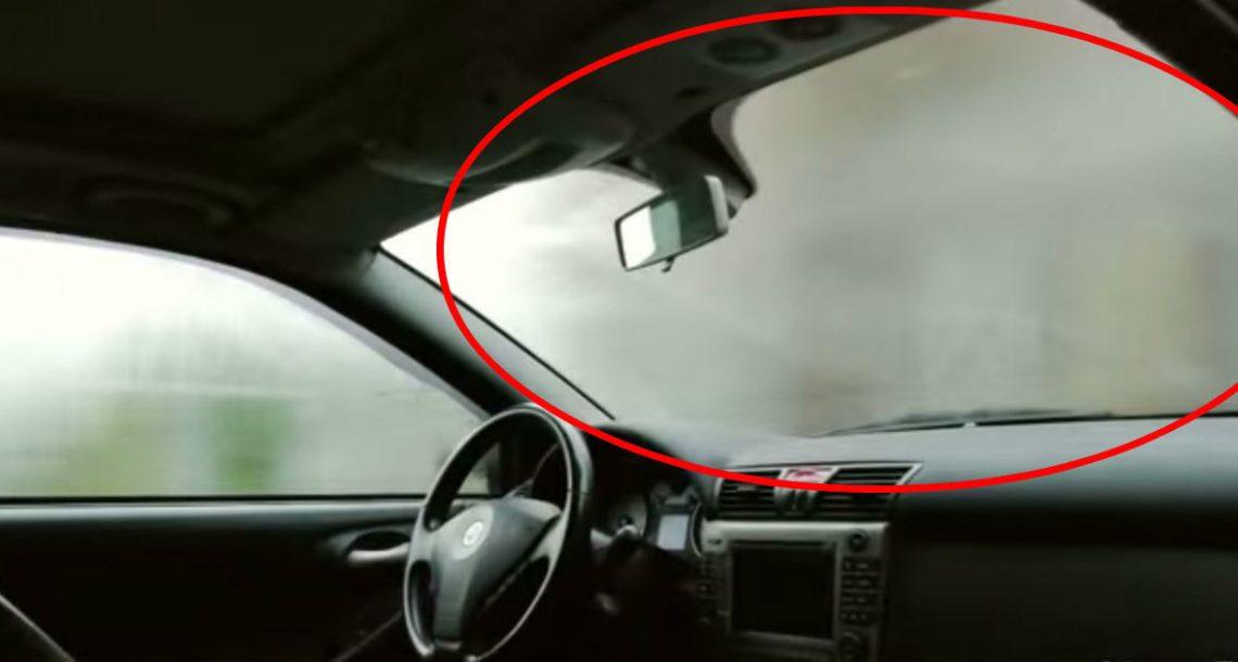 הטריק הפשוט והגאוני הזה ימנע מאדים להצטבר על השמשה במכונית שלכם
