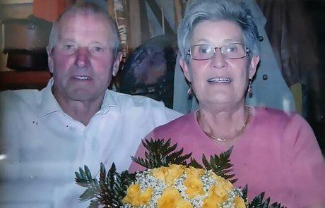 זוג קשישים שהיו נשואים 60 שנה הלכו לעולמם מוירוס הקורונה בהפרש של שעתיים – נוחו על משכבכם בשלום