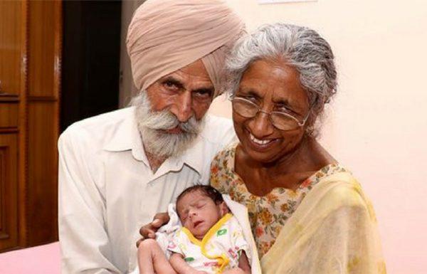 אישה בת 72 נכנסה להריון – עכשיו תראו את הילד שלה 11 חודשים אחרי