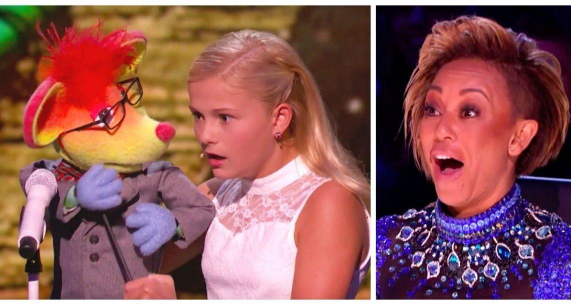אמנית פיתום צעירה עלתה לבמה עם הבובה שלה – אחרי מספר שניות הלסת של השופטים נפלה לרצפה!