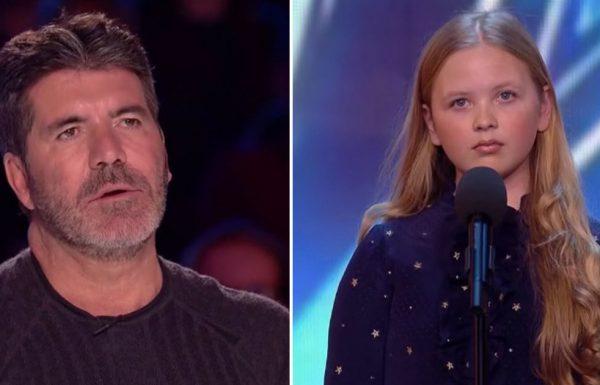 השופטים גיחכו לבחירת השיר של הילדה הזו. אבל הביצוע שלה הפיל אותם מהכיסא!