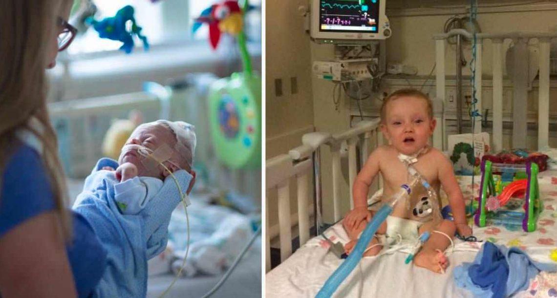 בנה הטרי נפטר בידיים שלה – חודשיים אחר כך אמא פגשה נס אמיתי בבית החולים