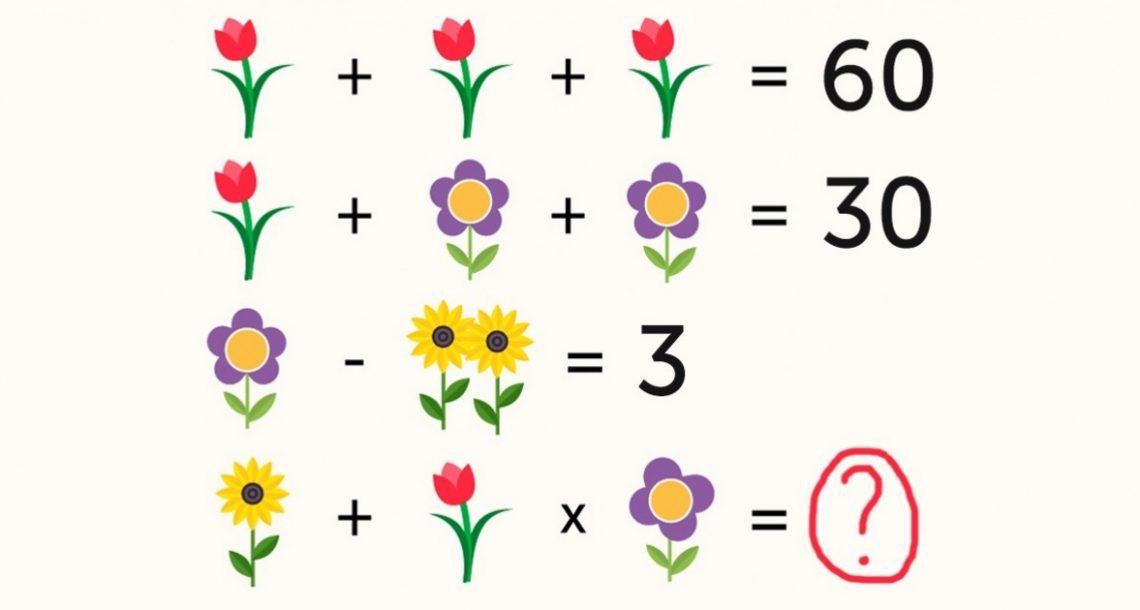 אפילו מבוגרים לא מצליחים למצוא את התשובה לחידת המתמטיקה הזו של ילדים