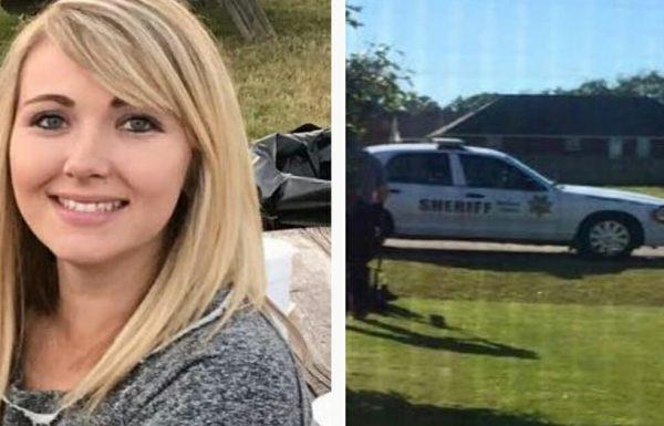 אמא כיסחה את הדשא עם תינוקת קשורה לחזה שלה – הלב שלה נפל כשמכונית משטרה נכנסה לחנייה שלה