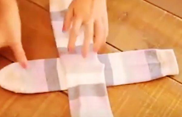 הסרטון הזה מוכיח שכל חיינו כולנו קיפלנו את הגרביים שלנו בצורה לא נכונה