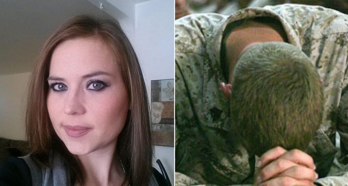 אישה מצאה את בעלה, חייל משוחרר נכה, בוכה מחוץ לביתם. אז היא הבינה מה השכן עשה