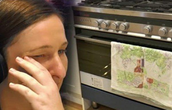 בעל עזב את אישתו ההריונית ונעלם ללא עקבות – אז היא גילתה משהו בתוך התנור