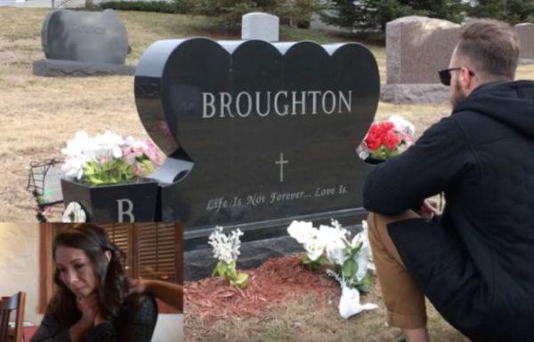 אבא שלה מת בשנת 2007 – 9 שנים אחר כך כולם היו בשוק כשראו מי כורע ברך מול הקבר שלו