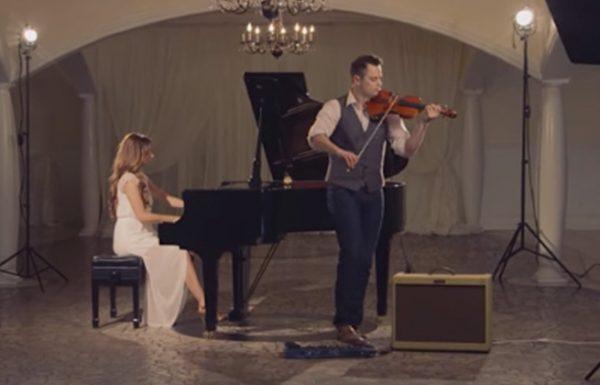 הוא הקליט את הכינור שוב ושוב, ויצר גרסה עוצרת נשימה שלא תשכחו לשיר 'הללויה'