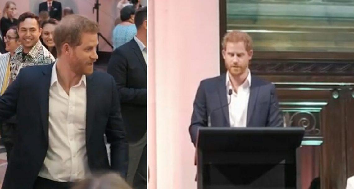 הנסיך הארי שבר את ה'חוקים המלכותיים' אחרי שקיבל מכתב מילד בן 6 שאיבד את אמא שלו