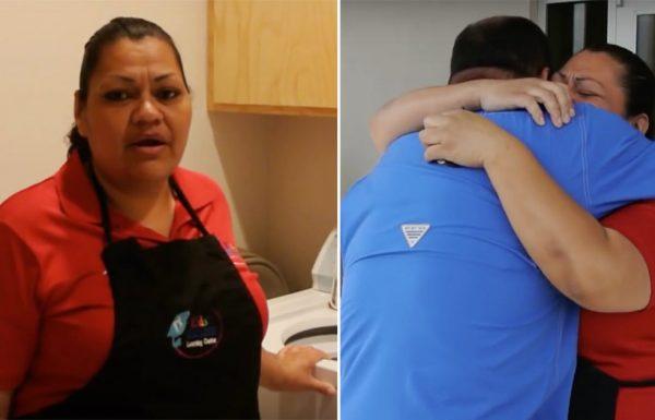 הבוס ביקש מעובדת שלו לצאת איתו החוצה – מה שהיא ראתה גרם לה לפרוץ בבכי