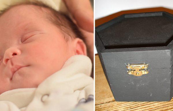תינוק הוכרז מת בבית החולים – אבל בדרך להלוויה אבא שמע קולות שגרמו לפניקה וחרדה