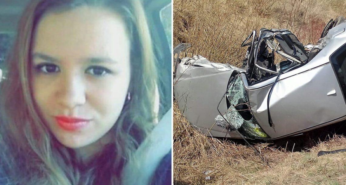 נהגת בת 19 מתה בתאונת דרכים: 24 שעות אחר כך, אמא מצאה את הטלפון בהריסות וקלטה את שברון הלב