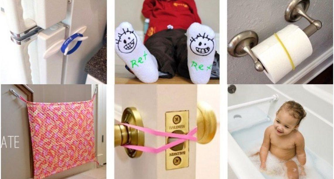 25 דרכים מעולות וחכמות להפוך את הבית בטוח לתינוקות