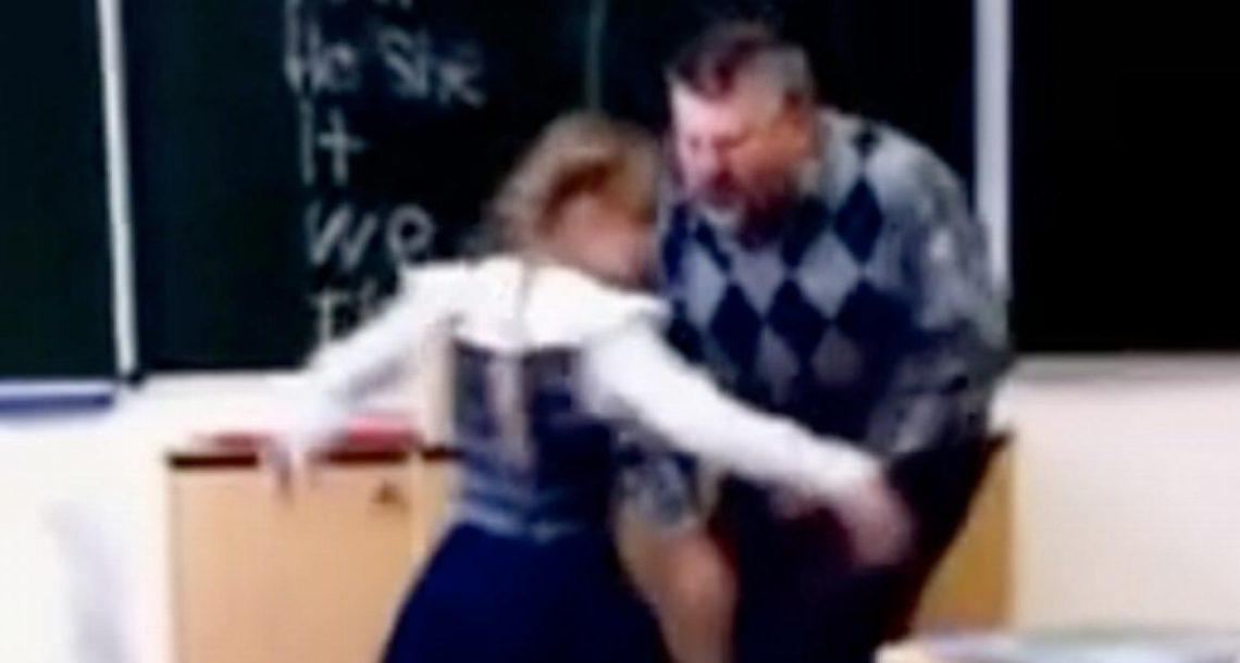 המורה התעלל בתלמידה שלו. התגובה שלה פשוט אדירה!