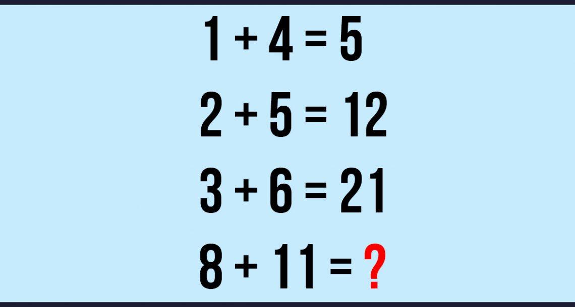 רק 1 מתוך 1000 מצליחים לפתור את החידה הזו! שתפו אם גיליתם את התשובה