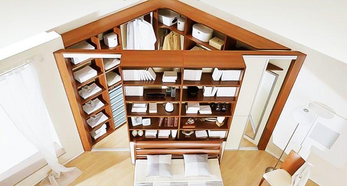 20 רעיונות עיצוב מעולים וחכמים לדירות קטנות שיחסכו לכם המון מקום