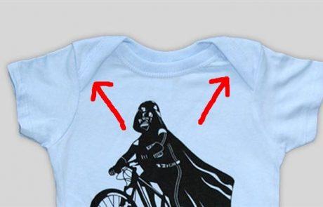 זאת הסיבה האמיתית שלבגדי תינוק יש קפלים באזור הכתפיים
