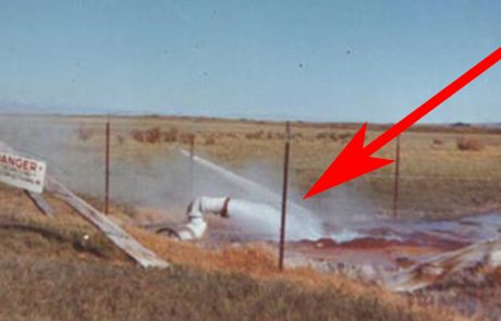 חקלאי קדח באדמה בחיפוש אחר מים. אבל מה שיצא החוצה הדהים את כל העולם