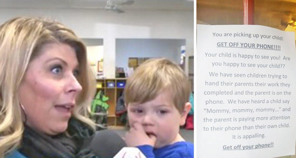 למעון היום נמאס מהתנהגות ההורים – עכשיו השלט שלהם מתפשט ברשת כמו אש בשדה קוצים