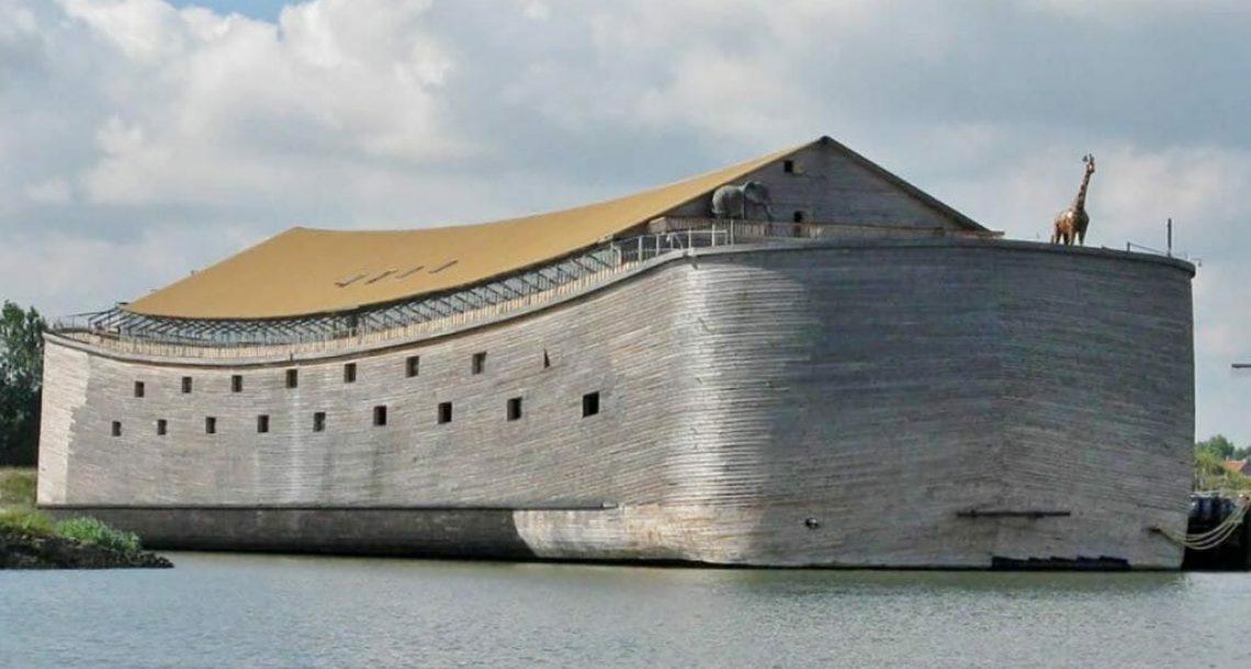 נגר בילה שני עשורים בבניית 'תיבת נוח'. מבט אחד פנימה ולא תאמינו שזה אמיתי