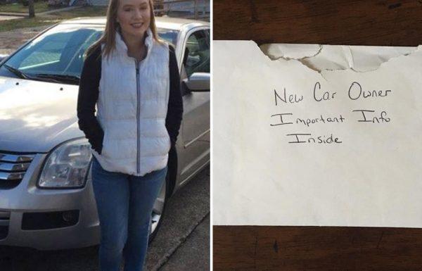 אבא מצא מכתב שהוחבא במכונית של בתו בת ה 16 – גרונו נחנק מדמעות כשקרא אותו
