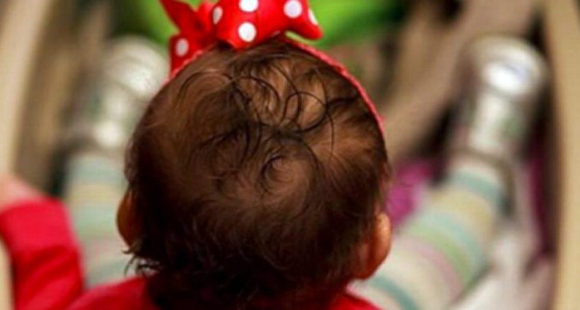 תינוקת בת 14 שבועות מתה בגלל מה שאמא שלה שמה על הראש שלה