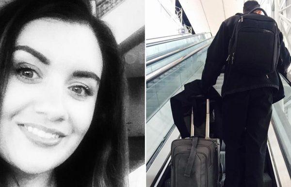אישה עמדה לעלות על טיסה – אך אז ראתה אדם זר וקלטה שמשהו לא בסדר…