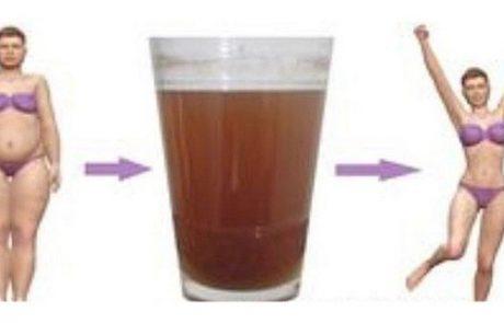 """משקה טבעי מ 2 מרכיבים שיסייע לכם להוריד 4 ק""""ג ב 10 ימים!"""