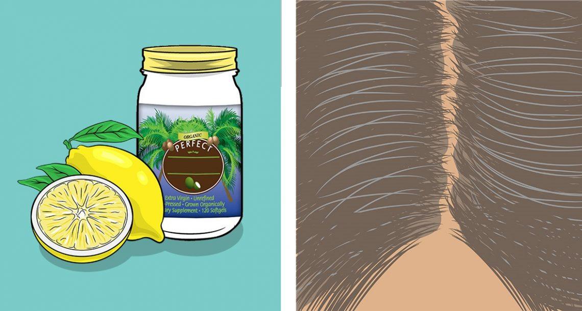 ערבבו את שני המרכיבים הטבעיים הללו – ושיערות השיבה שלכם יחזרו לצבען המקורי!