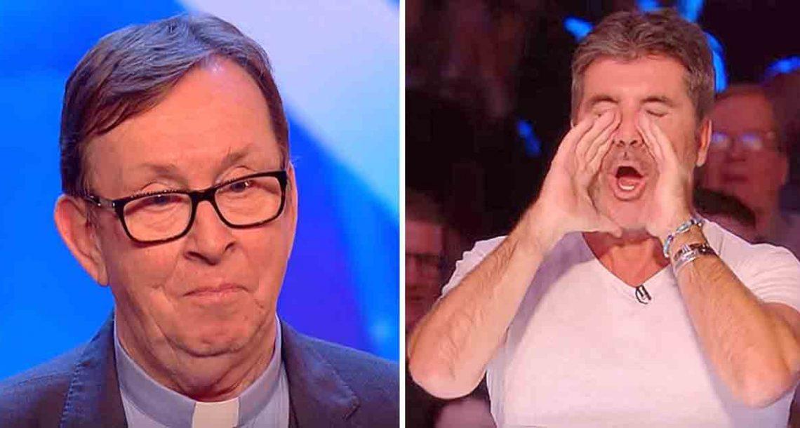 הדמעות לא הפסיקו אחרי שכומר אירי חשף את בחירת השיר שלו: גרם לסיימון לצרוח: 'הכי טוב ששמעתי'